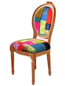 Light & Shade Patchwork Dining Chair