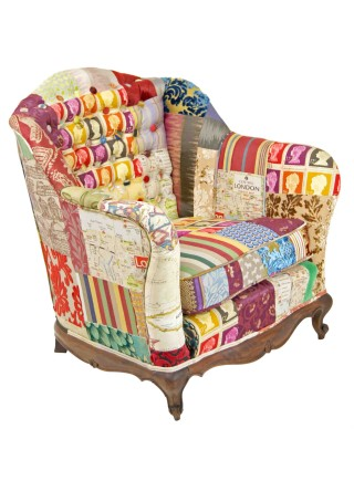 London Patchwork Chair – Made to Order
