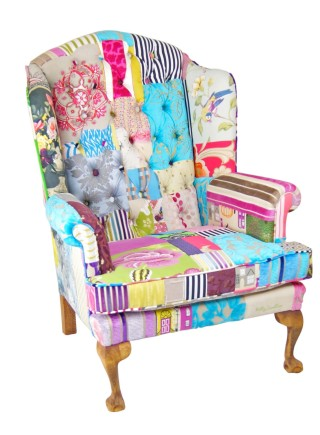 Heritage Patchwork Chair