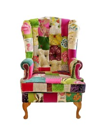 Emerald Wing Chair