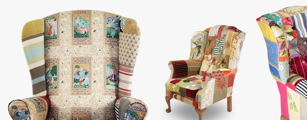 Kelly Swallow Custom Chairs Sofas Patchwork