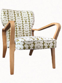 Vintage Chair – Orla Kiely  Sixties Stem Velvet
