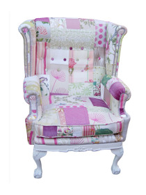 Love is Enough Patchwork Chair