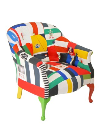Balshaw Buttoned Rugby Chair