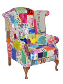 Cathaoir Mad Hatter Wingback Chair