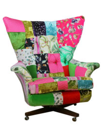 G Plan Blofeld Patchwork Chair