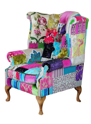 Kelly  – Mad Hatter Patchwork Chair