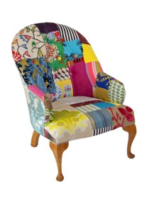 Buttoned Vintage Chair – DIYSOS