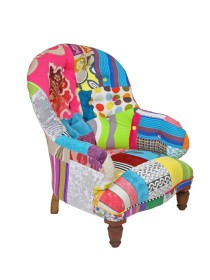 Victorian Buttoned Patchwork Chair