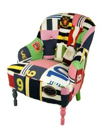 Button Back No. 9 Rugby Chair