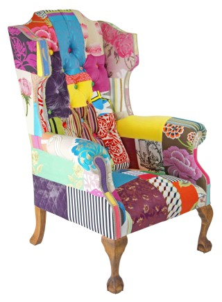 Stately Wing – Patchwork Chair