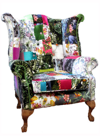 Jade Swallow Grand Wing Chair