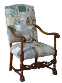 Grand Provence Patchwork Chair