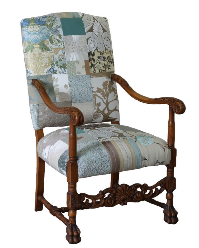 Prime Grand Provence Patchwork Chair Kelly Swallow Bespoke Chairs Theyellowbook Wood Chair Design Ideas Theyellowbookinfo