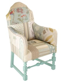 Little Blue Vintage Chair