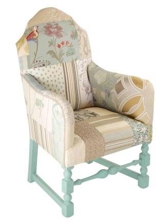 Little Blue Vintage Chair