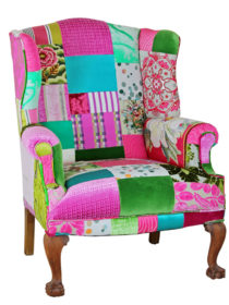 Tapestry Patchwork Chair