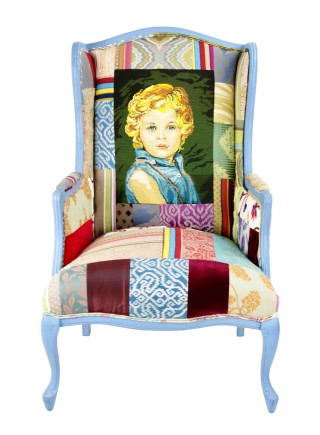 Blue Boy – Tapestry Chair