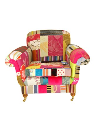 Patchwork Armchair  – Bouquet
