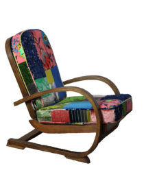 Tiger Deco Patchwork Chair