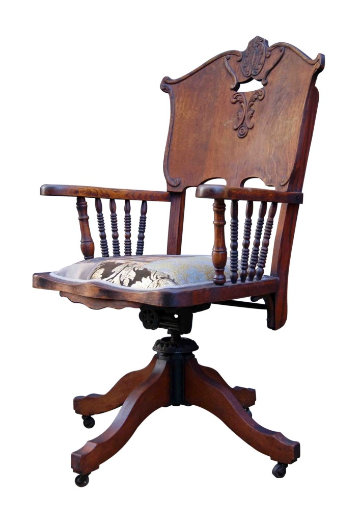 wild west antique desk chair kelly swallow bespoke chairs. Black Bedroom Furniture Sets. Home Design Ideas