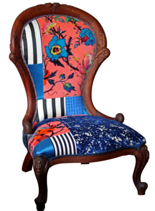 Drama Queen Patchwork Chair