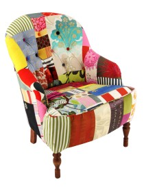 Stratford Buttons Patchwork Chair