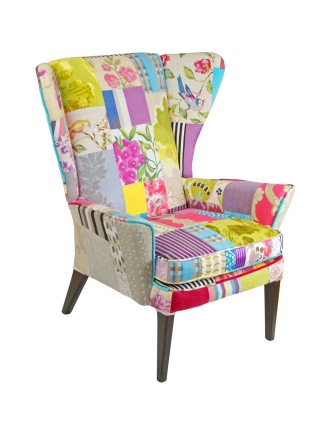 Light & Shade Wingback Chair